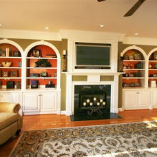 Traditional Living Room by Creatively Yours Custom Inc.