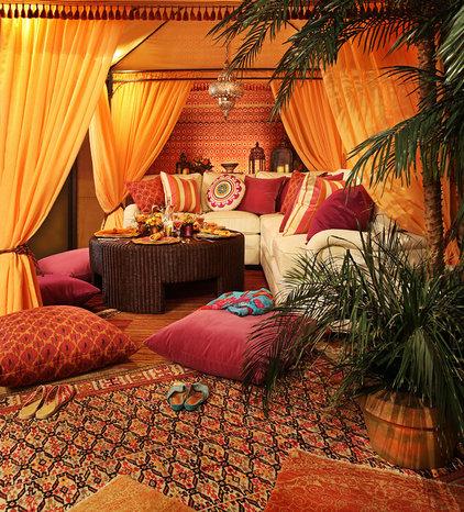 Mediterranean Living Room by Urso Designs