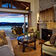 Traditional Living Room by Kim Layne Design Associates