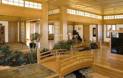 Asian Living Room by Rodney Kazenske