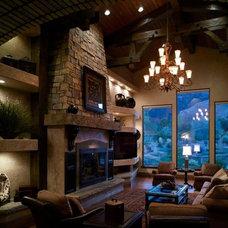 Traditional Living Room by CP Designs Colorado