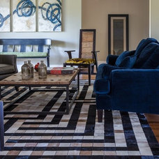 Eclectic Living Room by Valorie Hart