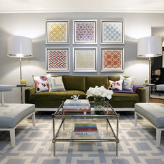 contemporary living room by Beth Dotolo, RID, ASID