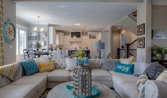 Colorful Contemporary New Home Design