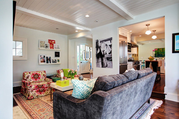 Houzz Tour Lively Meets Thrifty In Southern California