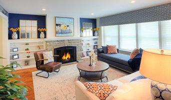 Colorful Farmhouse Living Room