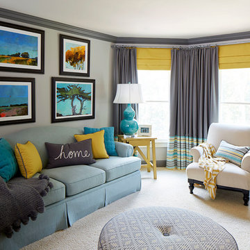 Colorful Office | West Cobb