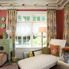 Eclectic Porch by Creative Wallcoverings & Interiors