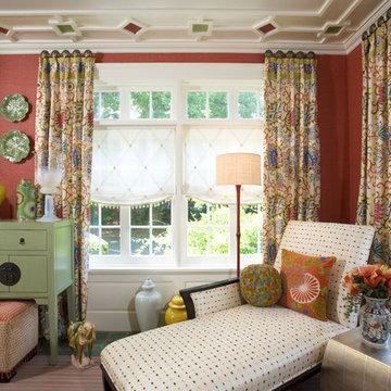 Colorful Sunroom