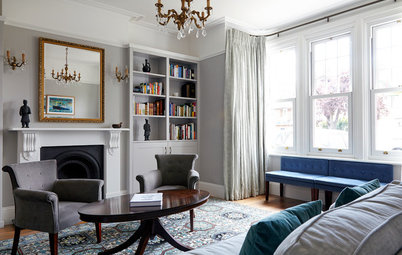 How to Choose and Hang Curtains in a Bay Window