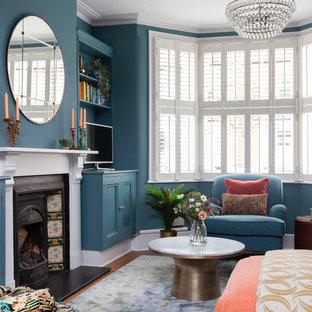 Eklektisches Wohnzimmer in London