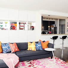 Eclectic Living Room by Collage Interiors