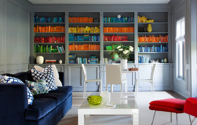 Design Debate: Should You Use Books for Decoration?