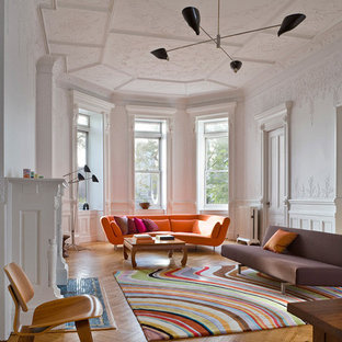 Rust Colored Walls Living Room Ideas Photos Houzz