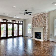 Craftsman Living Room by JnT Homes