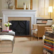 Eclectic Living Room by Wannemacher Interiors, LLC