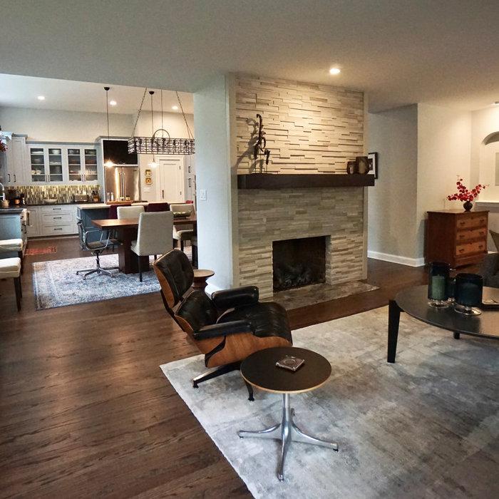 Columbus Ranch Home - Full Home Remodel - Living Room
