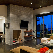 Contemporary Living Room by Fine Focus Photography