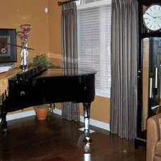 Eclectic Living Room by Mulberry Interiors Oakville Ontario