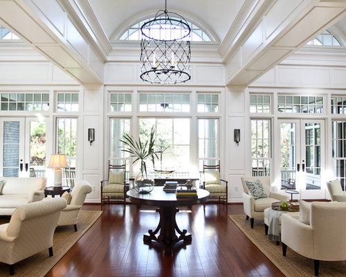 French door great room houzz for B q living room doors