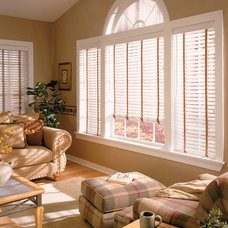Traditional Living Room by Blinds Max