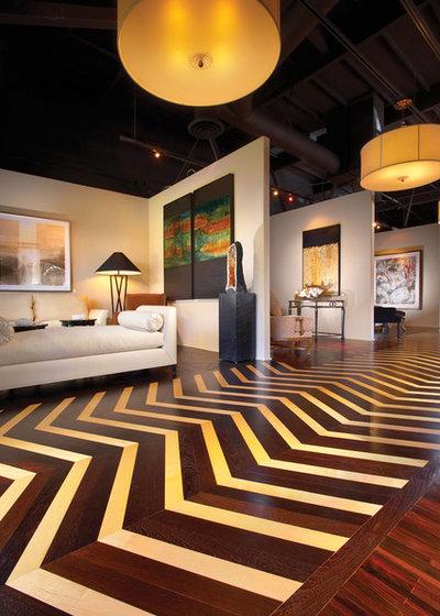 Eclettico Soggiorno by Gaetano Hardwood Floors, Inc.