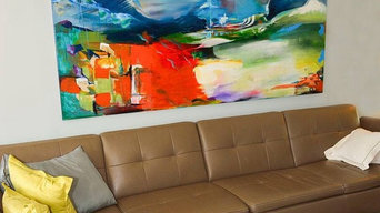 Commission - Living Room Wall - 9-foot Painting