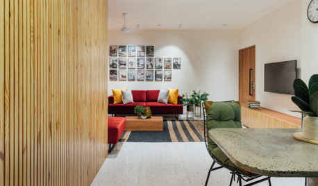 Rajkot Houzz: This Home Comes Alive With Wood, Colours & Textures