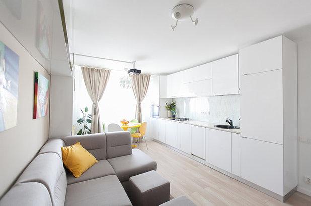 Contemporary Living Room by Black Fox Interiors