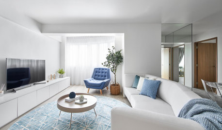 Houzz Tour: Creative Solutions to Awkward Corners in 5-Room Flat