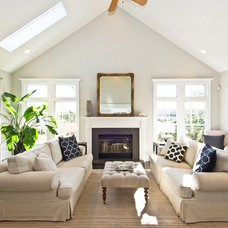Traditional Living Room by James Traynor Custom Homes