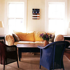 Traditional Living Room by Wormser and Associates