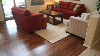 Comtemporary Home using Karndean Design Floor in Autumn Oak