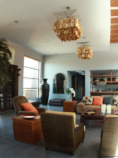 Southwestern mexico city living room design ideas for Southwestern living room designs