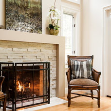 Traditional Living Room by New England Design Elements