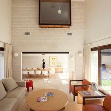 Contemporary Living Room by Gary Hamer Interior Design