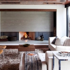 Contemporary Living Room by Mags Concrete Works