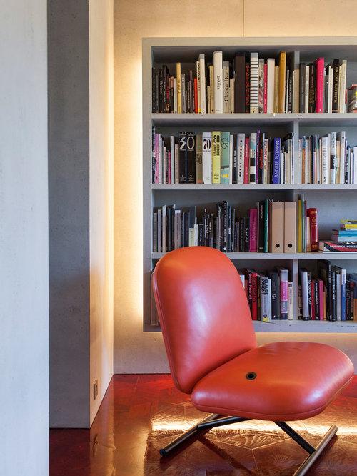 Concrete worktop living design ideas renovations photos - Beton door lcda ...