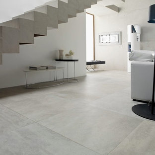Concrete Look Tiles - Rodano Acero