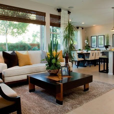 Traditional Living Room by Blackbird Interiors