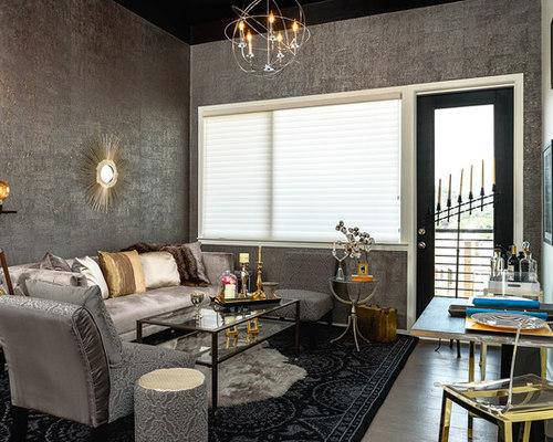 Condo Living Room Kitchen Open Concept Design Manhattan Style Mesmerizing Kitchen Remodeling Manhattan Decor Property