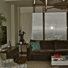 Modern Living Room by Darci Goodman Design