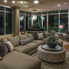 Contemporary Living Room by Artistico