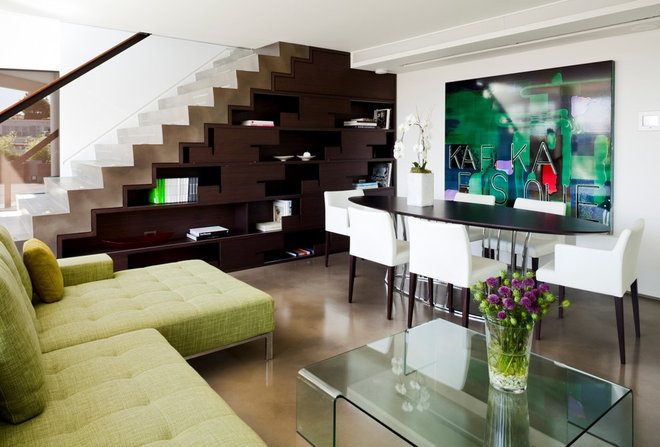 Contemporary Living Room by capsuledesigns