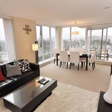 Contemporary Living Room by Noon Interior Design