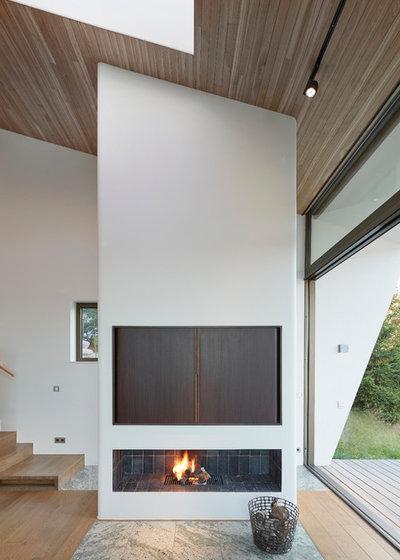 Skandinavisk Dagligstue by Trigueiros Architecture