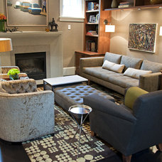 Contemporary Living Room by Good Space Design Group