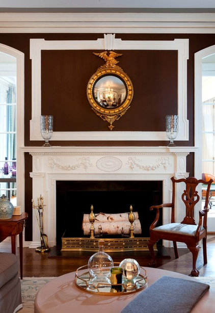 Traditional Living Room by S. B. Long Interiors