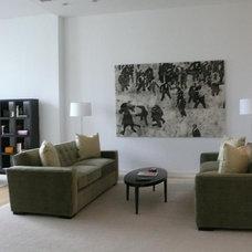Contemporary Living Room by CF Raines Interior Design