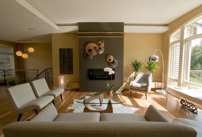 Contemporary Living Room by Jim Kuiken Design